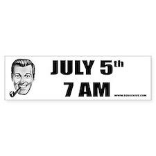 July 5 Bumper Bumper Sticker