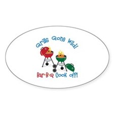 Grills Gone Wild! Bar-B-Q Cook Off! Decal