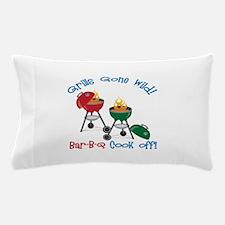 Grills Gone Wild! Bar-B-Q Cook Off! Pillow Case