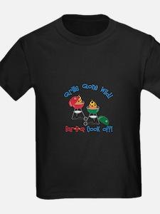 Grills Gone Wild! Bar-B-Q Cook Off! T-Shirt