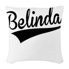 Belinda, Retro, Woven Throw Pillow