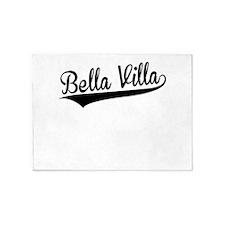 Bella Villa, Retro, 5'x7'Area Rug