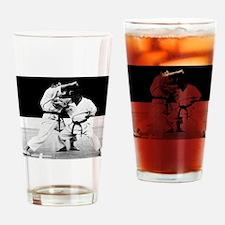 Karate Master Drinking Glass