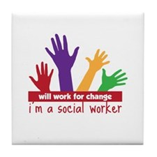 Will Work for change im a social worker Tile Coast