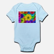Colorful Daisies Body Suit