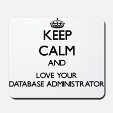 Keep Calm and Love your Database Administrator Mou
