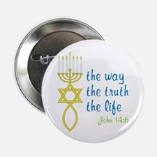 "John 14:6 2.25"" Button (100 pack)"