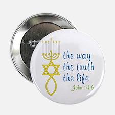 """John 14:6 2.25"""" Button (10 pack)"""