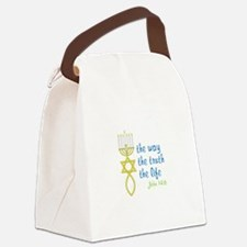 John 14:6 Canvas Lunch Bag