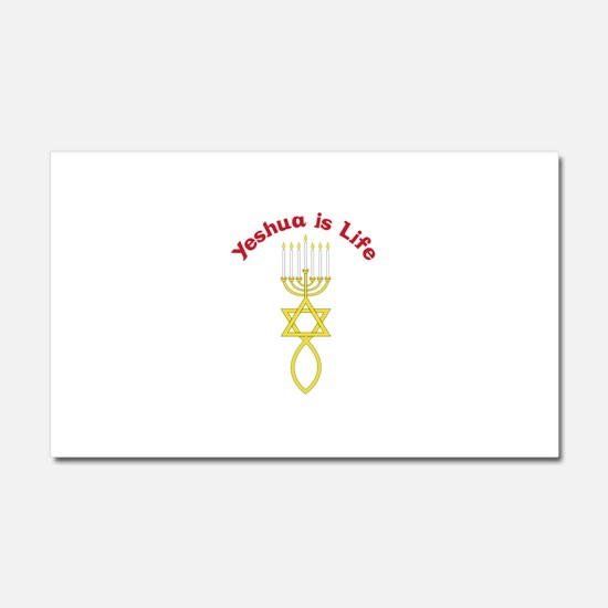 Yeshua is Life Car Magnet 20 x 12