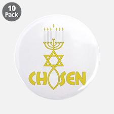 """CHOSEN 3.5"""" Button (10 pack)"""