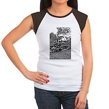 Narrow Gauge Railway St Women's Cap Sleeve T-Shirt