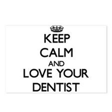 Keep Calm and Love your Dentist Postcards (Package