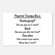 Physical Therapy Buzz Postcards (Package of 8)