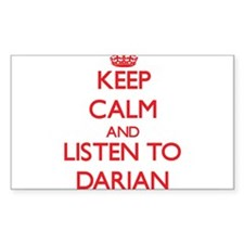 Keep Calm and Listen to Darian Decal