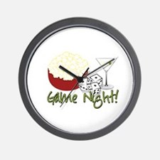 Game Night! Wall Clock