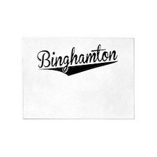 Binghamton, Retro, 5'x7'Area Rug