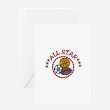 All Star Greeting Cards