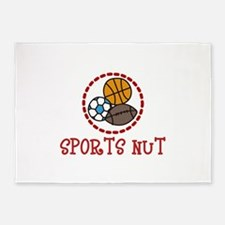 Sports Nut 5'x7'Area Rug