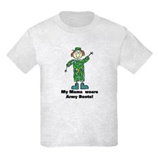 My Mama Wears Army Boots T-Shirt