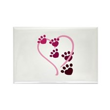 Dog Paws Magnets
