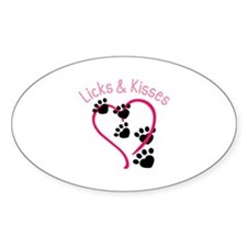 Licks And Kisses Decal