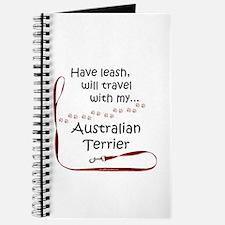Australian Terrier Travel Leash Journal