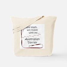 Australian Terrier Travel Leash Tote Bag