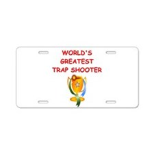 TRAP3 Aluminum License Plate