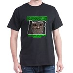 Black Oregonbigfoot.com T-shirt