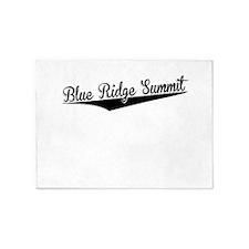 Blue Ridge Summit, Retro, 5'x7'Area Rug