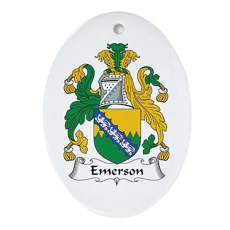 Emerson Oval Ornament