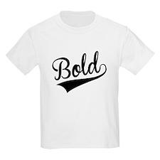 Bold, Retro, T-Shirt