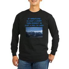 WRESTLING5 Long Sleeve T-Shirt
