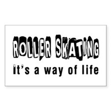 Roller Skating it is a way of Decal
