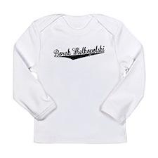 Borek Wielkopolski, Retro, Long Sleeve T-Shirt