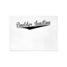 Boulder Junction, Retro, 5'x7'Area Rug