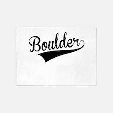 Boulder, Retro, 5'x7'Area Rug