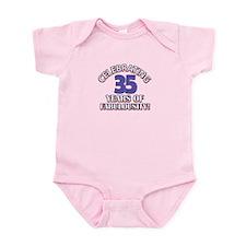 35 year old designs Infant Bodysuit