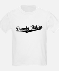 Brandy Station, Retro, T-Shirt