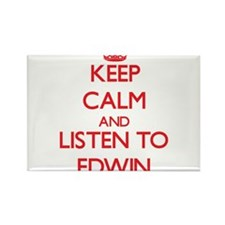 Keep Calm and Listen to Edwin Magnets
