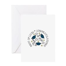 BEST OF LUCK! CONGRATULATIONS! Greeting Cards