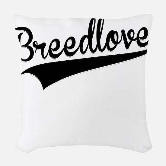 Breedlove, Retro, Woven Throw Pillow