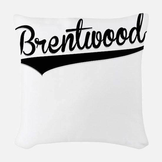 Brentwood, Retro, Woven Throw Pillow