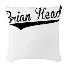 Brian Head, Retro, Woven Throw Pillow