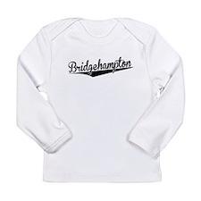 Bridgehampton, Retro, Long Sleeve T-Shirt