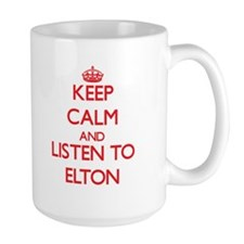 Keep Calm and Listen to Elton Mugs