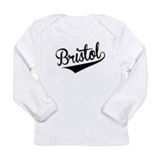 Bristol, Retro, Long Sleeve T-Shirt