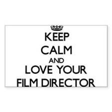 Keep Calm and Love your Film Director Decal