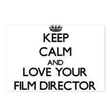 Keep Calm and Love your Film Director Postcards (P